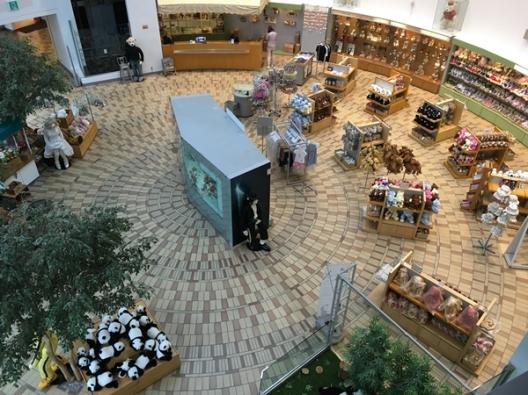 ร้านขายของที่ระลึก ของ Jeju Teddy Bear Museum