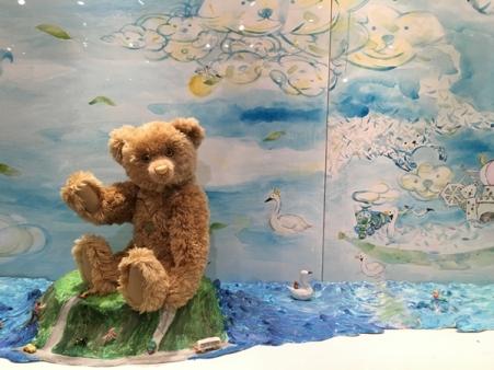 หมีตัวนี้หน้าตามันเห็นแล้วอดขำไม่ได้จิงๆ