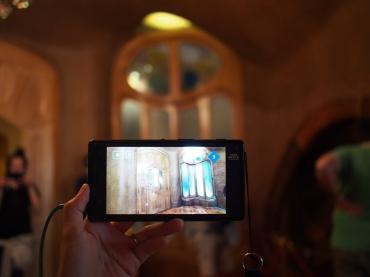 แทบเบล็ตออดิโอไกด์ ของ Casa Batlló