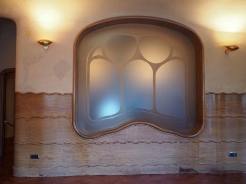กรอบหน้าต่าง Casa Batlló