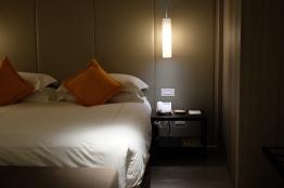 เตียงนุ่มสบาย / The Gaia hotel, Beitou, Taipei
