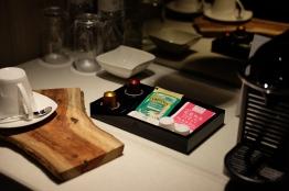 ชา กาแฟ และขนมในห้อง / The Gaia hotel, Beitou, Taipei