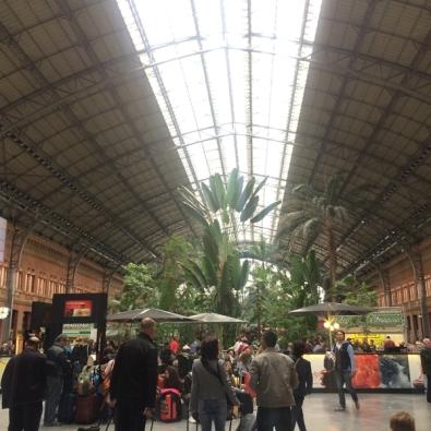 สถานีรถไฟในมาดริด
