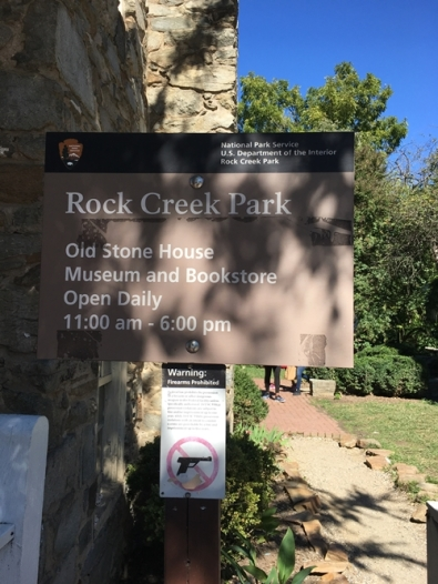 Rock Creek Park, Old stone house.