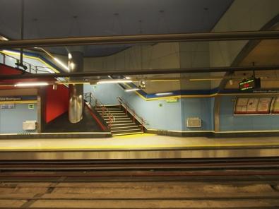 สถานีรถไฟในมาดริดสีสันน่ารักจัง