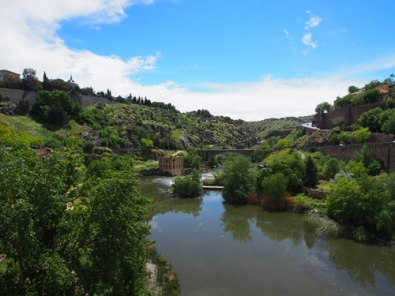 ถ่ายจากสะพานข้ามแม่น้ำ ไปสู่เมืองเก่า
