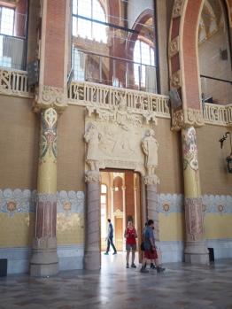 Hospital de Sant Pau บาร์เซโลน่า