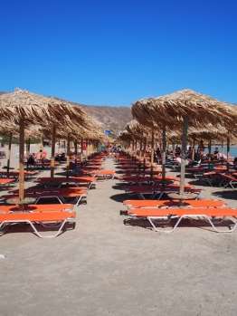 Elafonisi beach, Crete.