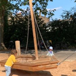 Greenwich park playground.